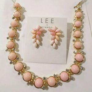 Jewelry - 🆕 Lee Angel Capri Necklace & Earring Set